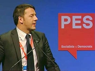 Renzi al Congresso PSE